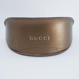 Gucci Large Bronze Flip Top Sunglass Case